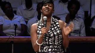 Le'Andria Johnson ministers at Mt. Zion - YouTube