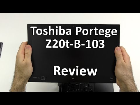 Toshiba Portege Z20t Review - Core-M convertible with massive battery life