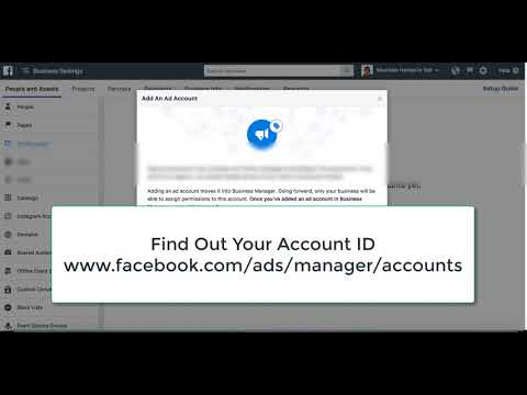 How to Add or Connect Facebook  Ad Account on your Business Manager