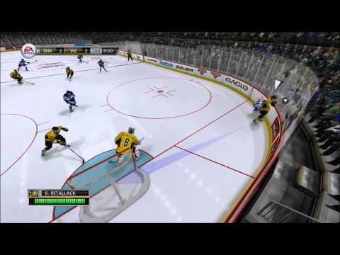 NHL 13 Be a pro goalie part 1: starting at Victoriaville Tigars