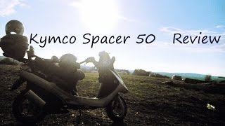 6. Kymco Spacer 50cc Review (Top speed: 65 km/h - 40mph)