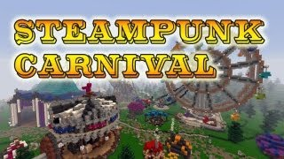 Steampunk Carnival Timelapse - The Voxel Box