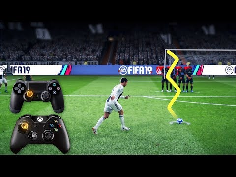 FIFA 19 Knuckleball/Power Free Kick Tutorial