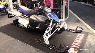 10. 2016 Yamaha Phazer X TX Sled - Walkaround - 2015 Toronto Snowmobile & ATV Show