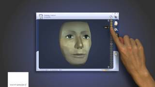 Face Scan Direct Manipulation Touch Interface