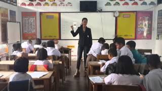 Prachinburi Thailand  city pictures gallery : Sawasdee Thailand Project 2015 (Ban Khou Pun School, Prachinburi, Thailand) - Yolanda Remetwa