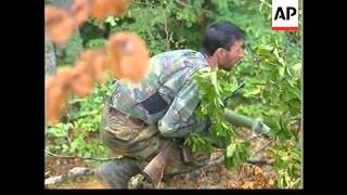 Kosovo: KLA Soldiers Hold Positions In Province - 1999