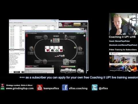 Coaching it UP! #7: 25NL feat. SteveePlaysPoker