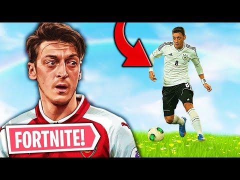 UNE STAR DU FOOTBALL JOUE A FORTNITE SUR TWITCH! (Mesut Ozil)  LE MEILLEUR DE FORTNITE #54