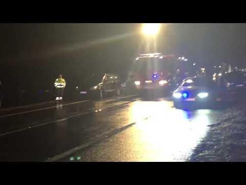 Wideo: Wypadek na DK3 w Polkowicach