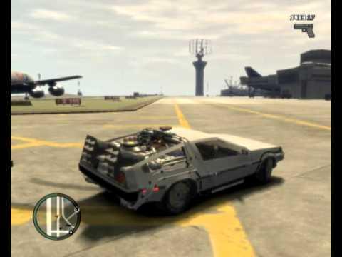 Back To The Future GTA IV (MOD)