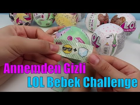 Video Annemden Gizli Arkadaşımla LOL Bebek Challenge Özel Seri vs 2.Seri Çakma LOL Sürpriz Bidünya Oyuncak download in MP3, 3GP, MP4, WEBM, AVI, FLV January 2017