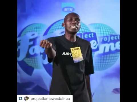 Korede Bello's GODWIN remix performance at MTN Project fame