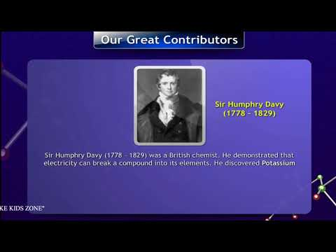 Sir Humphry Davy    ||   English Story