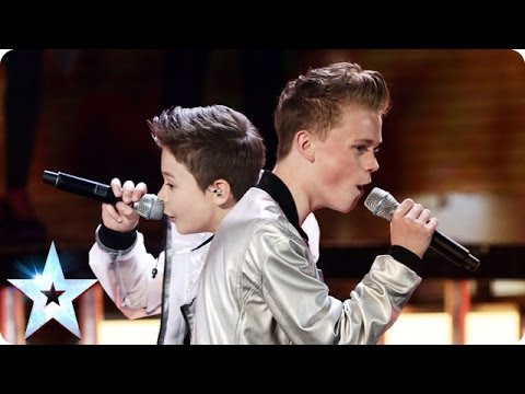 Bars & Melody perform Twista feat. Faith Evans's Hopeful | Britain's Got Talent 2014 Final