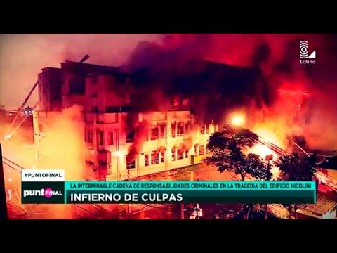 Infierno en Las Malvinas: responsables de la tragedia del edificio Nicolini (видео)