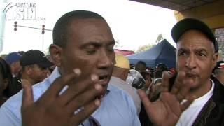 Enfrentados continúan los buhoneros y alcalde Francisco Peña por desalojos
