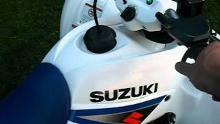 4. Suzuki z250 Idle