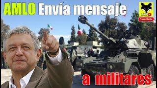 Fuerzas armadas: AMLO envía importante mensaje para el Ejército mexicano, marinos y policias.