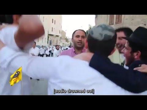 תלמידי חנוך לנער מול שונאי ישראל בחברון