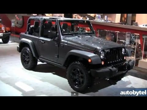 2014 Jeep Willys Wheeler Debut Video