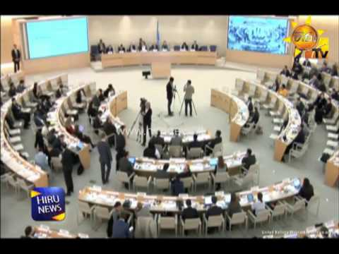 UNHRC commissioner urges to setup a mechanism to implement the resolution