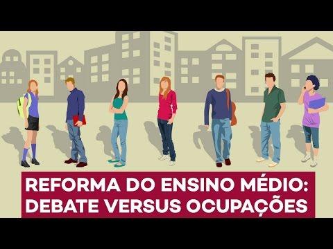 Caio Narcio: ensino médio, com debate e sem invasões