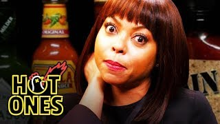 Video Taraji P. Henson Needs a Stunt Double to Eat Spicy Wings | Hot Ones MP3, 3GP, MP4, WEBM, AVI, FLV Juli 2018