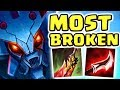 THIS WILL 100% BE NERFED!! NEW BROKEN BUILD | FULL AD KHA'ZIX JUNGLE | NO ONE CAN RUN Nightblue3