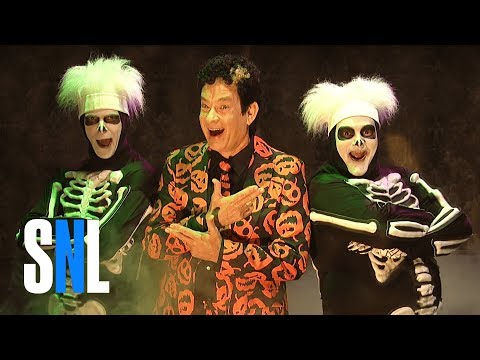 Haunted Elevator (ft. David S. Pumpkins) - SNL (видео)