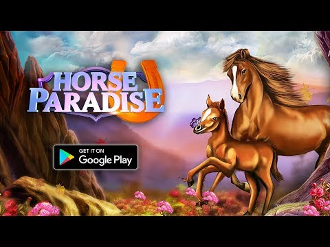 Horse Paradise Online Game - OUT NOW Google Play/iOS/Amazon