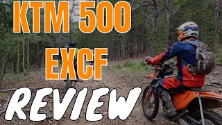 8. First impressions and review of the KTM500 EXCF | Can this be the best dual sport?