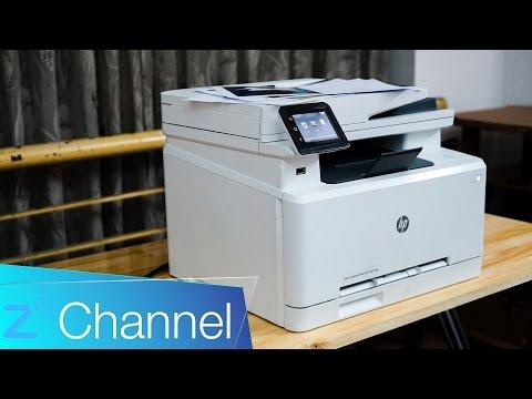 Đánh giá máy in Đa năng HP LaserJet M277dw: Thông minh, in từ mọi nơi, mọi thiết bị
