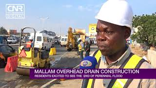 Residents elated over construction of Mallam Junction drains