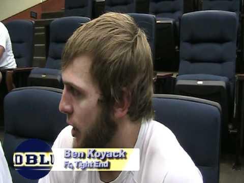 Ben Koyack Interview 8/19/2011 video.