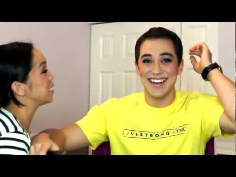 Wife does husbands makeup Part 2 (Benjita)- ItsJudyTime (видео)