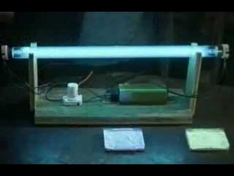 fluorescent - Another video from The Secret Life of Machines. Shows how fluorescent lights convert UV to visible light.