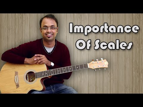 Importance Of Scales – Guitar Lesson For Beginners