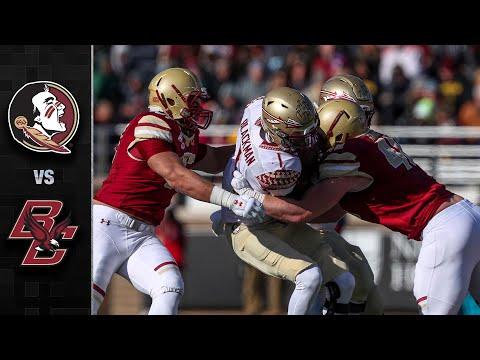 Florida State vs. Boston College Football Highlights (2019)