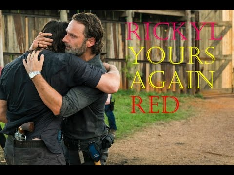 The Walking Dead-Rick And Daryl (RICKYL) Tribute-YOURS AGAIN-RED
