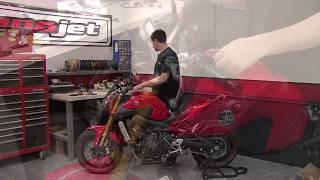 9. Power Commander 5 Install: 2014 Yamaha FZ-09