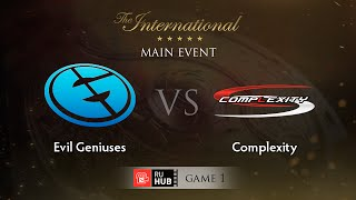 Evil Genuises vs coL, game 1