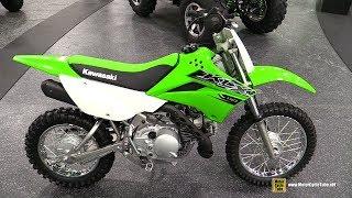 8. 2019 Kawasaki KLX110 - Walkaround - 2018 AIMExpo Las Vegas