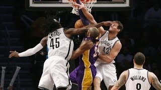 NBA Top 50 FACIAL DUNKS 12-13 (regular season) HD