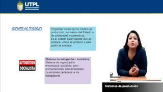 UTPL SISTEMAS DE PRODUCCIÓN [(ASISTENCIA GERENCIAL Y RRPP)(INTRODUCCIÓN A LA ECONOMÍA)]