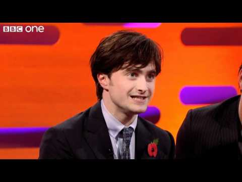 daniel - http://www.bbc.co.uk/programmes/b00vzzxk Harry Potter star Daniel Radcliffe performs his party trick, which is singing 