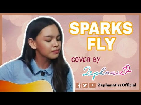 Zephanie covers Sparks Fly by Taylor Swift with a guitar