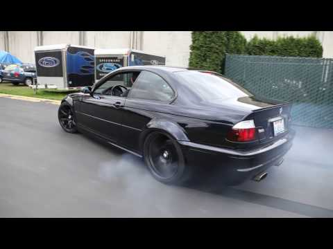 bmw m3 e46: king of burnouts and doughnuts