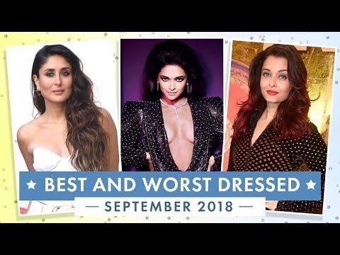 Kareena Kapoor Khan, Deepika Padukone, Anushka Sharma : Best and Worst Dressed of September 2018