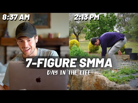 Day in the Life of a 7-figure Agency/SMMA Owner | Ep.4